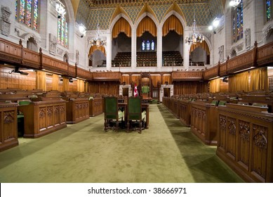 Floor of Canadian House of Commons