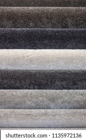 Floor carpets collection samples closeup