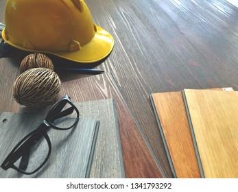 Floor constructing site : rebuild or renovate click lock type Vinyl floor tiles choosing new floor idea