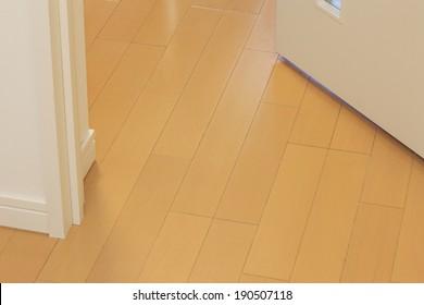Floor and door