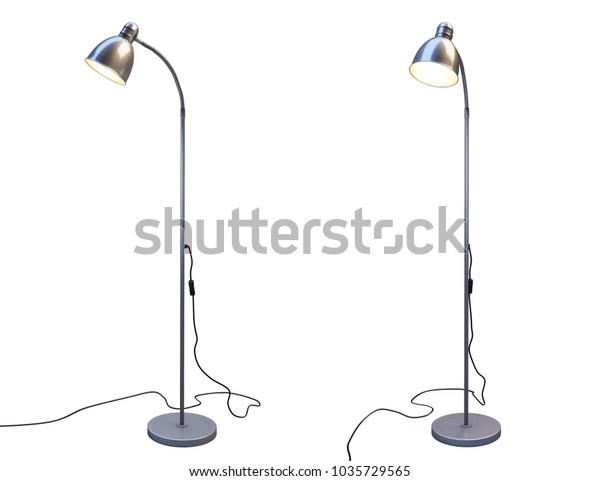 Floor Lamp Ikea Lersta Two Positions Stock Photo Edit Now 1035729565