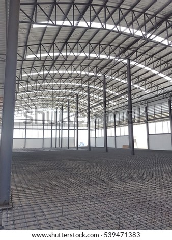 990c504a99c Floor Metal Structure Frames New Build Stock Photo (Edit Now ...