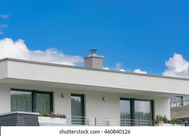 Flat Roof House Images Stock Photos Vectors Shutterstock