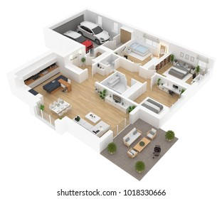 3d House Plans Images, Stock Photos & Vectors | Shutterstock