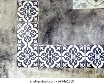 Floor tiles background.
