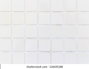 Floor tiles of the same pattern used for the background.