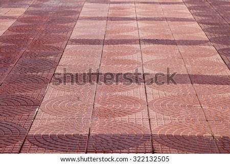 Floor Tiles Texture Footpath Stock Photo Edit Now 322132505