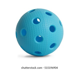 Floorball ball - blue