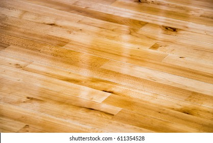 floors, made of natural wood