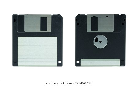 Floppy Disk. isolated on white background