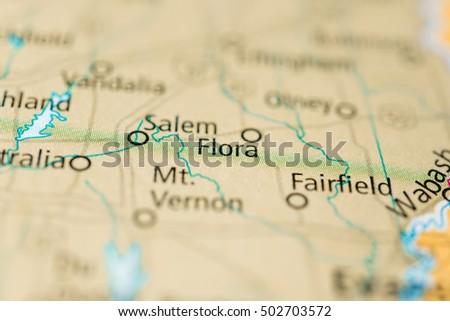 Flora Illinois Usa Stock Photo Edit Now 502703572 Shutterstock