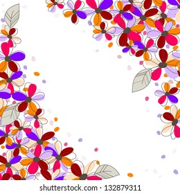 floral background, rasterized vector. Vector file is also available in my portfolio.