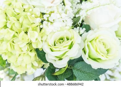 floral bouquet flower - lighting vintage filter effect