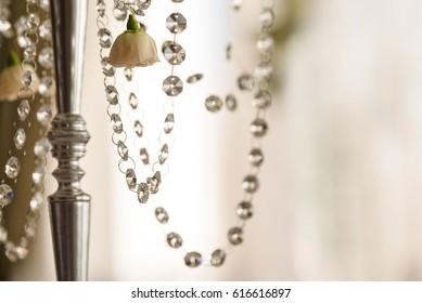 Floral decoration close up