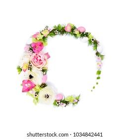 Floral Design Circular Arrangement Concept - Flores no Cais