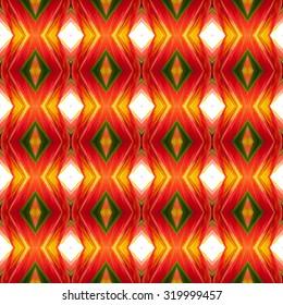 Floral Kaleidoscopic mosaic seamless texture or background