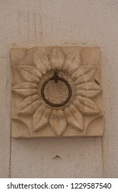 Floral ring wall decoration from Southern Italy