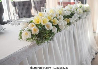 Floral wedding decoration