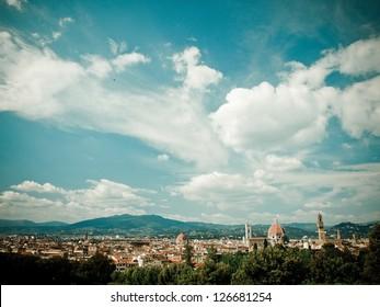 Florence, from Boboli Gardens