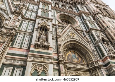Florence Cathedral is beautiful and known as The Cathedral of Saint Mary of the Flowers and is a World Heritage Site