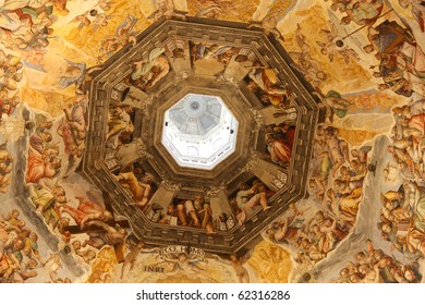 Florence cathedral, interior, Tuscany, Italy