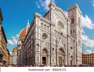 Florence, Cathedral Santa Maria Del Fiore (Basilica of Saint Mary of the Flower) (Tuscany, Italy)