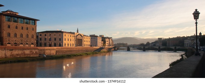 Florence, Italian city on the Arno River