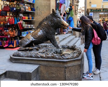 Florence, ITALY - 19 Jan, 2019