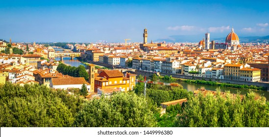 Florence, Italy. Beautiful view on Florence