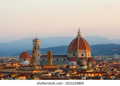 The Florence, Italy Cathedral at sunrise