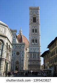 FLORENCE, ITALY - CIRCA MARCH 2012: Florence Cathedral aka Duomo di Firenze or Basilica di Santa Maria del Fiore