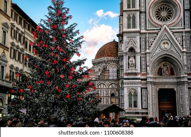 Christmas In Florence Italy.Florence Italy Christmas Images Stock Photos Vectors