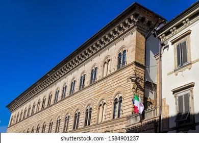 Florence, Italy, historic palace Medici Riccardi