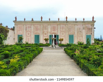 Florence, Italy, June 2017 - External view of Museo delle Porcellane, located at Boboli Gardens