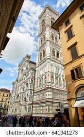 Florence, Italy - MAY 3, 2017: Cathedral of Santa Maria del Fiore