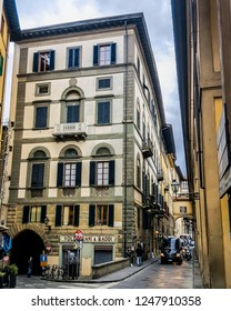 Florence, Italy, November 16, 2018: Architecture of the city.
