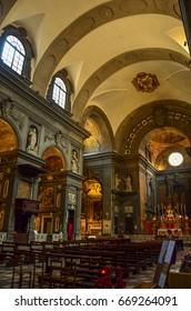 Florence, Italy - September 14, 2016: Santi Michele e Gaetano