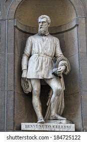 Florence Italy uffizi marble statue