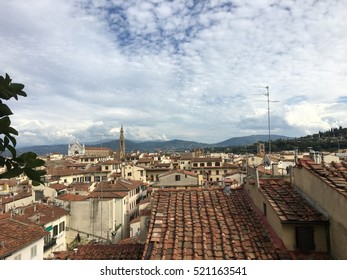 Florence rooftops in summer