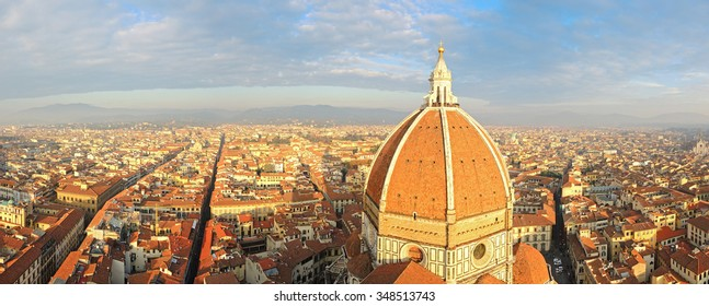 Florence view from the bell tower (Giotto tower)
