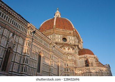 Florence's cathedral stands tall over the city with its magnificent Renaissance dome designed by Filippo Brunelleschi.