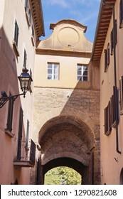 Florentine gate, Volterra, Tuscany, Italy