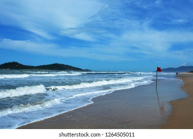 Florianopolis, Santa Catarina, Brazil. Panoramic view of the Campeche Island (Ilha do Campeche), in the south of Florianopolis.