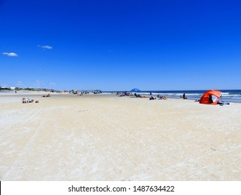 Florida Beach Scene in Spring