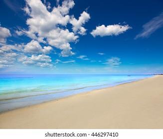 Florida bonita Bay Barefoot beach in USA