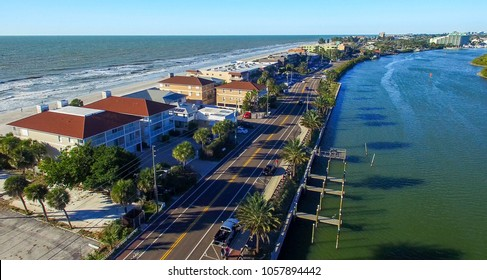 Florida coastline in St Petersburg area.