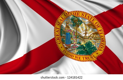 Florida flag - USA state flags collection no_3