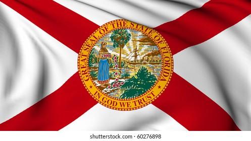 Florida flag - USA state flags collection
