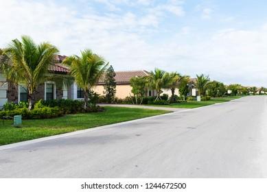 Florida golf community neighborhood