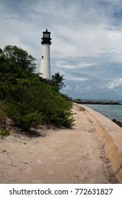 Florida Lighthouse in Key Biscayne